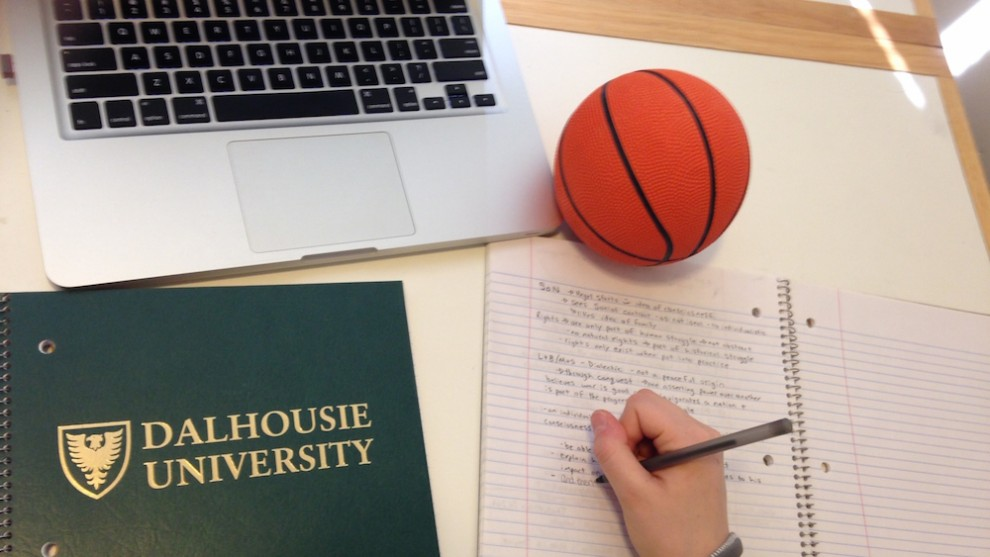 Student-athletes need to juggle school and sports.
