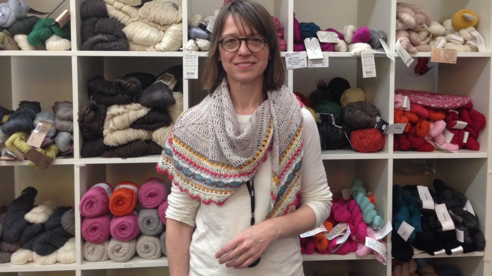 Mimi Fautley in her store.