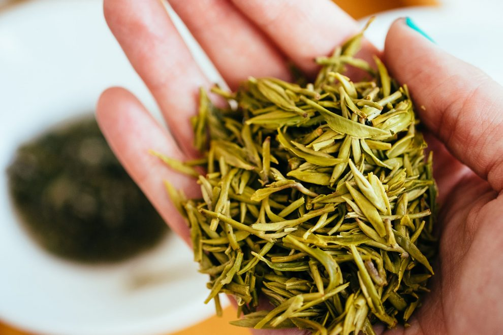 This is Baihao Yinzhen, also known as White Hair Silver Needle tea. It's a white tea and is considered a 'specialty tea'.
