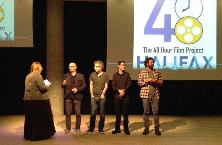 Teams of the 48 Hour Film Project talk about their creative process