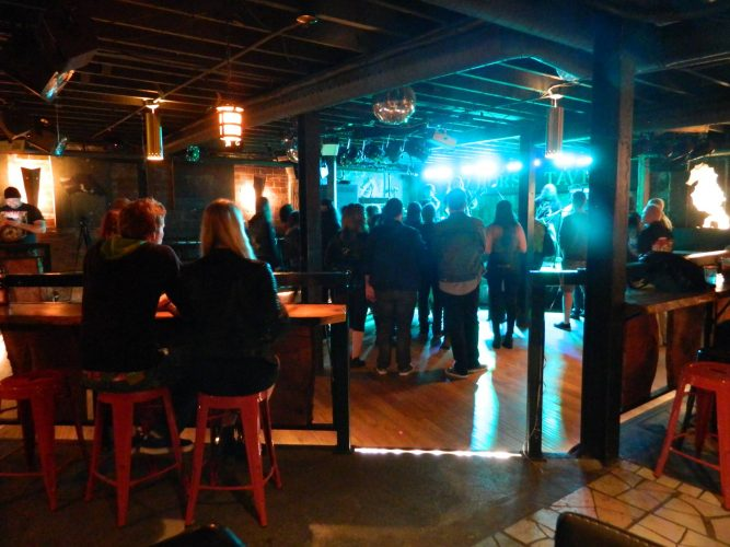 The Seahorse Tavern offered their venue without cost for the cause.