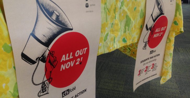 Dalhousie's Fight the Fees Lunch and Learn encourages students to go all out on Nov. 2.