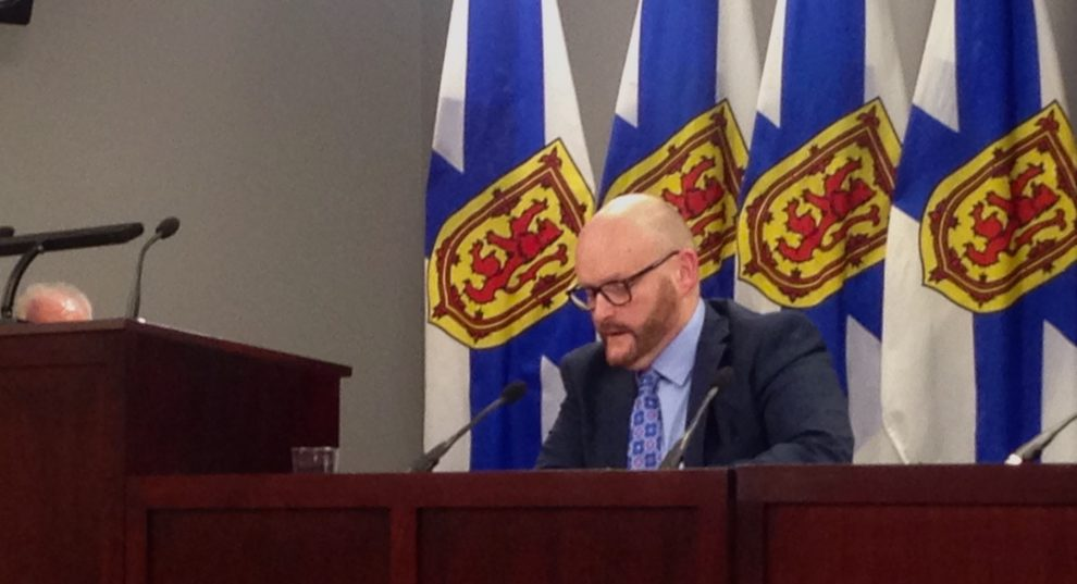 N.S. Auditor General Michael Pickup reports on the joint audit of the Atlantic Lottery Corporation.