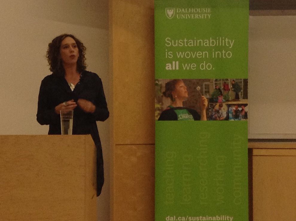 Tzeporah Berman comes to Dal to give a talk on climate change and sustainability in Canada