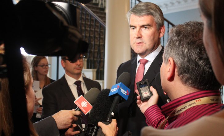 Premier Stephen McNeil is one of three Nova Scotia politicians nominated for a CFIB Golden Scissors Award.