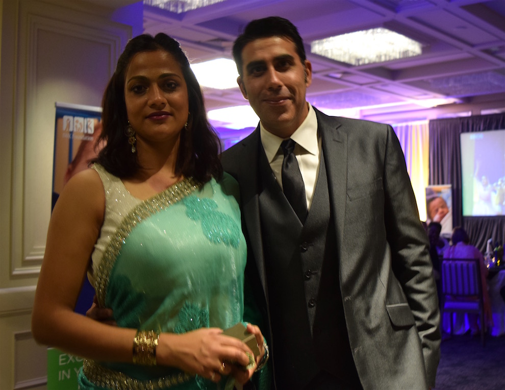 Kavita Khanna, an engineer, and Sanjay Khanna, an IT consultant, have organized Bollywood Night for the last two years.