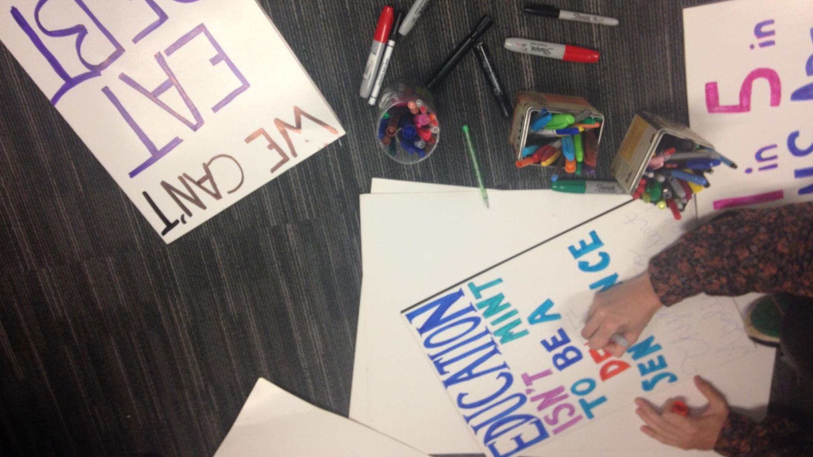 Students will protest high tuition fees, indigenous issues and more at the Nov 2 Day of Action,