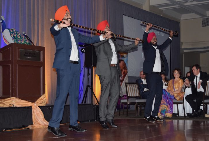The Maritime Bhangra Group, who performed at Bollywood Night and has gained a lot of media attention after posting a video of a dance routine at Peggy's Cove.