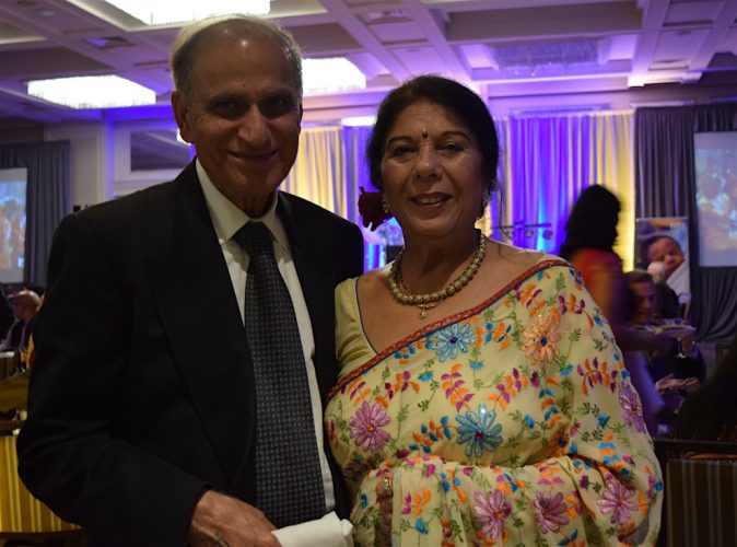 Before coming to Halifax, Om and Meena Khanna hosted Bollywood Night in Truro.