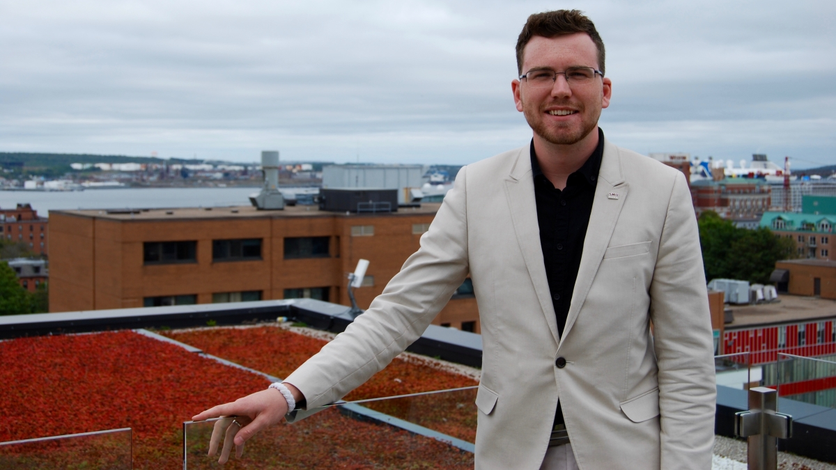Recent SMU graduate Dominick Desjardins wants to bring a fresh point of view to city council.