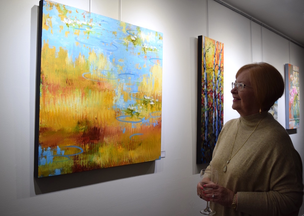 Louise Baker's artwork has been displayed at many galleries in Halifax, Truro and Mahone Bay