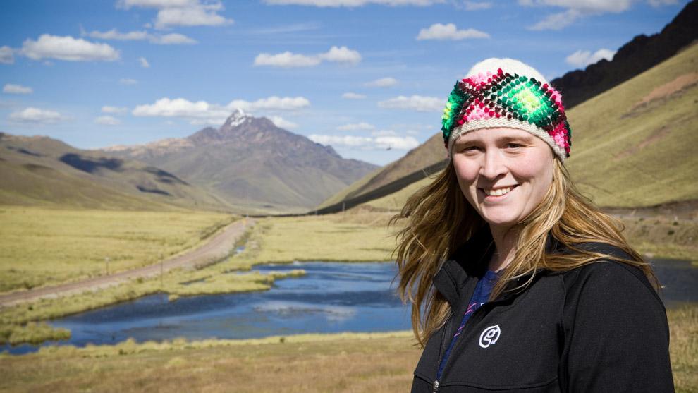 Tucker in La Raya, Peru.