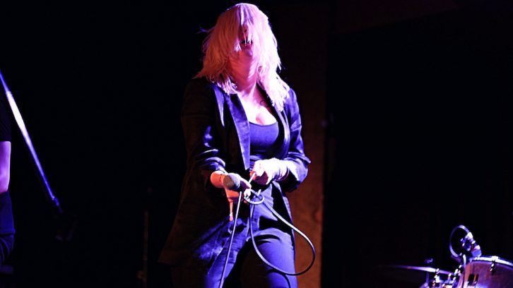 Mish Way from White Lung, a Canadian punk rock band formed in Vancouver, British Columbia.