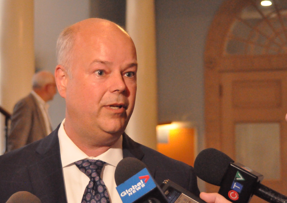 Former PC leader Jamie Baillie.