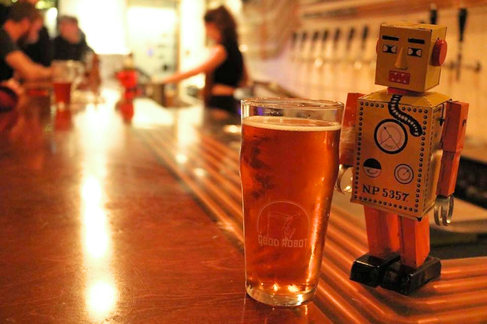 Good Robot Brewery houses non-profit organization charity events every week.