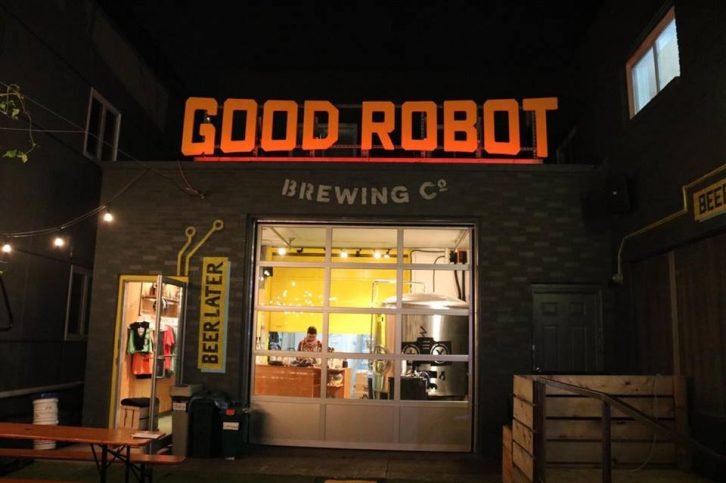 Good Robot will close its beer garden for the winter season on Nov. 1.
