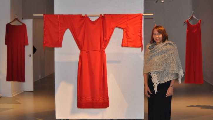 Artist Jamie Black created the REDRESS project to bring awareness to missing and murdered indigenous women in Canada