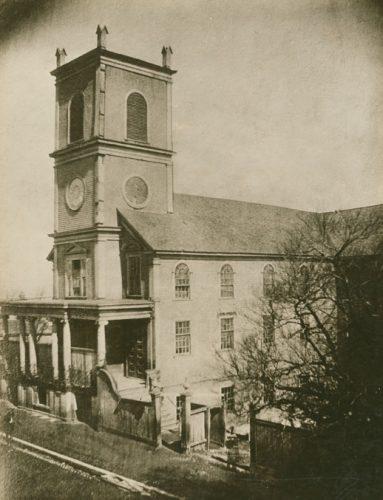The old Saint Patrick's Church (Nova Scotia Archives)