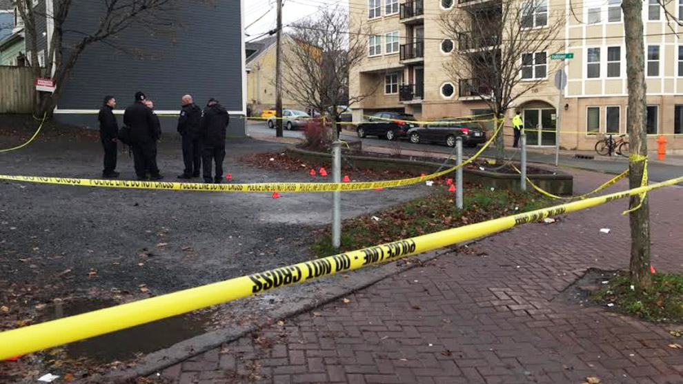Police found the man shot in a vehicle on Gottingen and Falkland streets.
