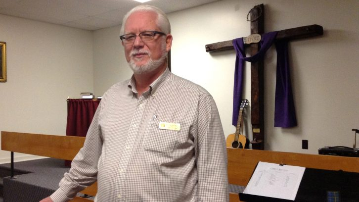Rev. John den Hollander is the chaplain at the Salvation Army.
