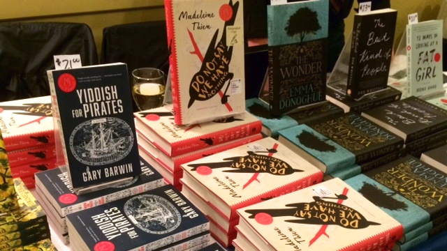 The novels shortlisted for the 2016 Scotiabank Giller Prize, including Madeleine Thien's winning Do Not Say We Have Nothing.