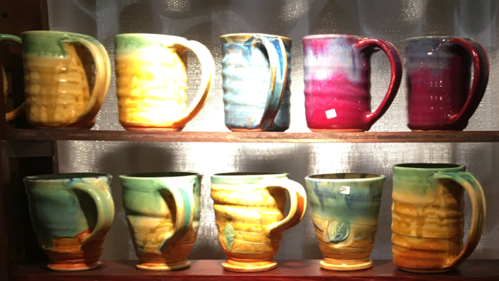Deborah Wheeler aims to create pottery that delights the senses through colour, shape and texture.