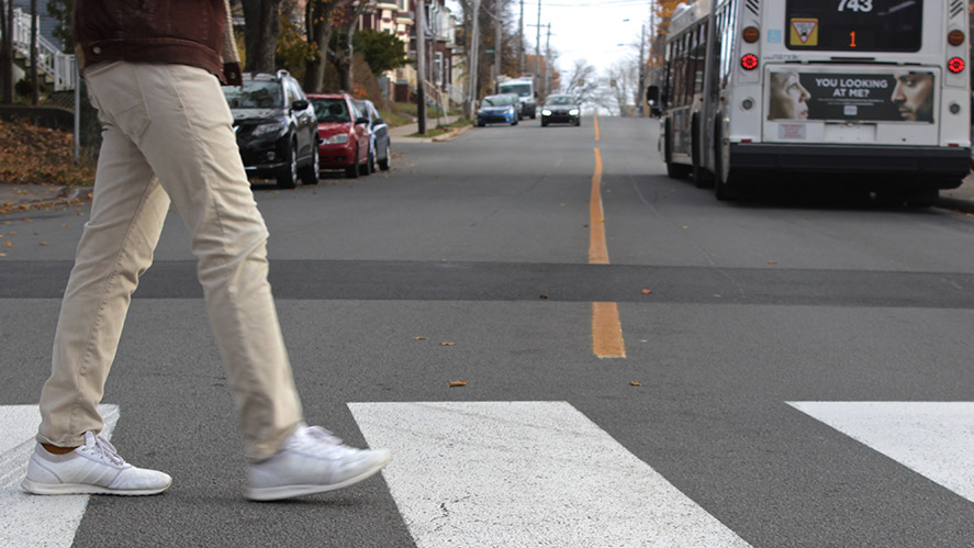 Crosswalk Safety Awareness Day was on Tuesday.