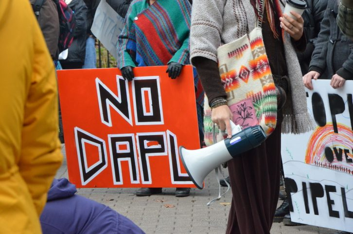 #NoDAPL is the most popular hashtag being used to protest the Dakota Access Pipeline.