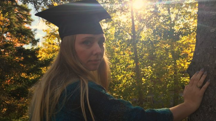 Recent Acadia graduate, Lacey Cox, has struggled with depression since finishing school