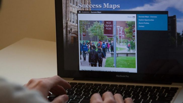 Saint Mary's University Success Map