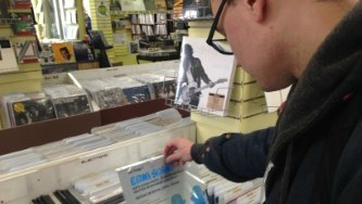 Customers spend hours mining Taz Records inventory for hidden treasures.