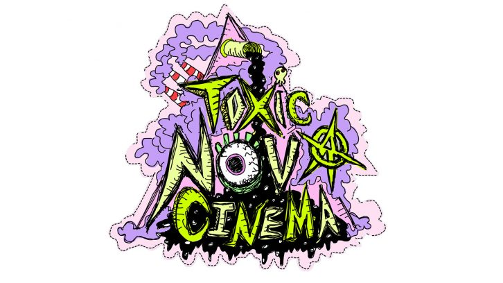 The Toxic Nova Logo, complete with Dartmouth smoke stacks and Sydney tar ponds.