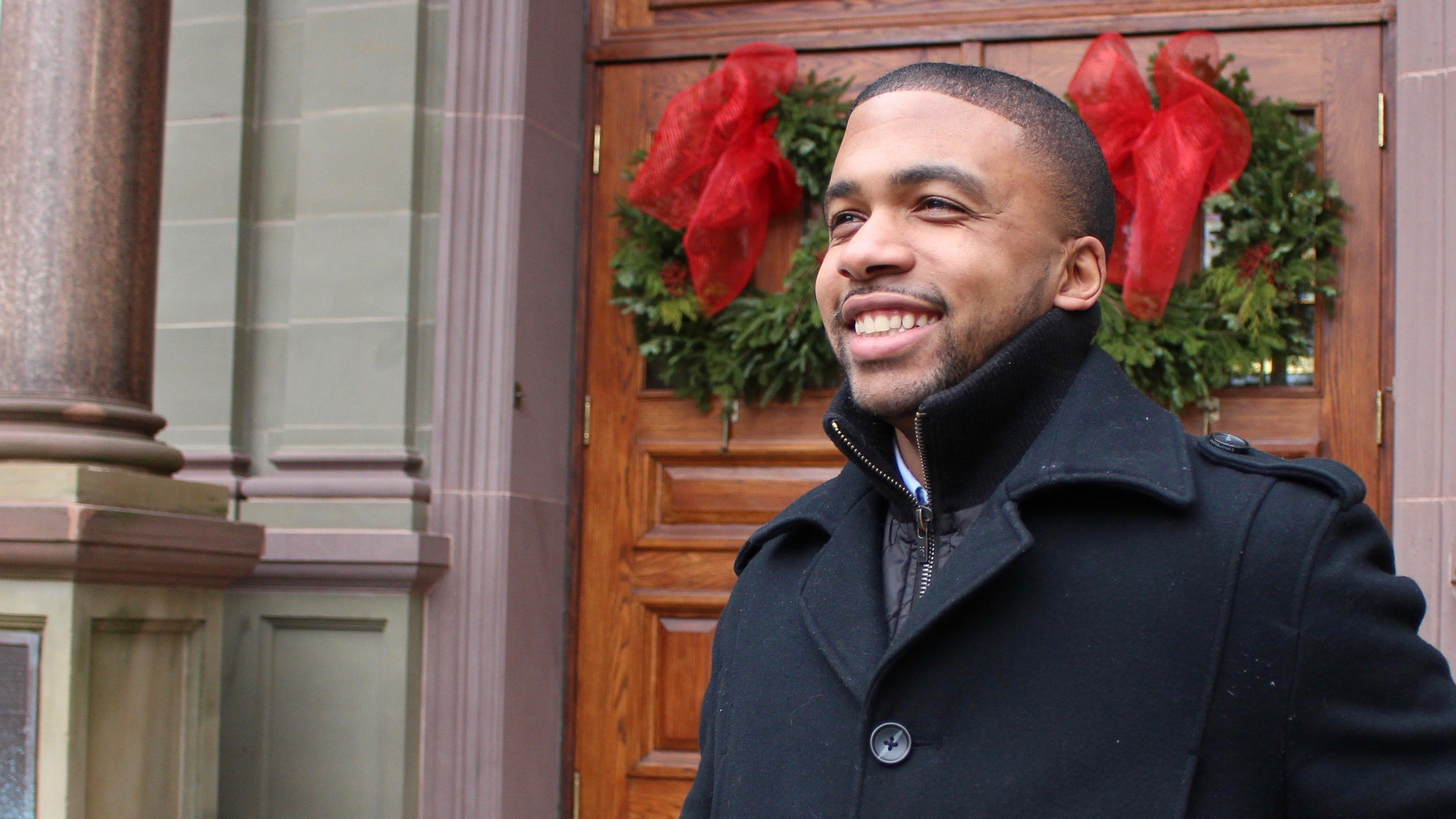 DeRico Symonds is starting his own fundraiser this Christmas season.