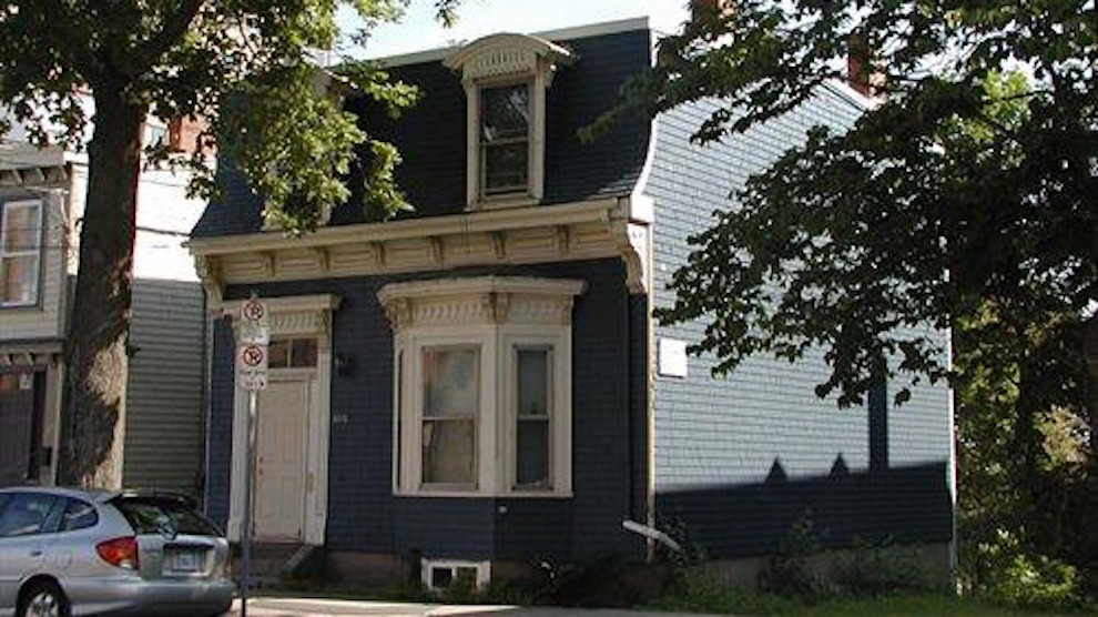 The house at 2275 Brunswick Street lost its heritage listing Tuesday.