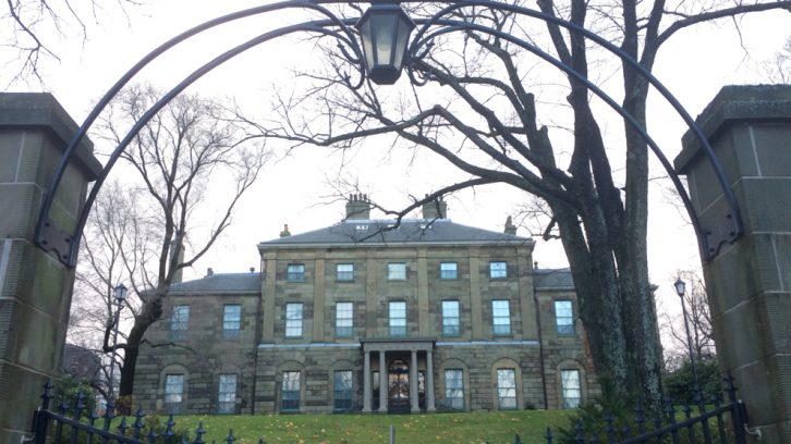 The Government House of Nova Scotia (1800) is one of many historic properties in the district.