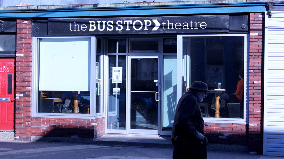 The Playwrights' Unit is based out of the Bus Stop Theatre on Gottingen Street.