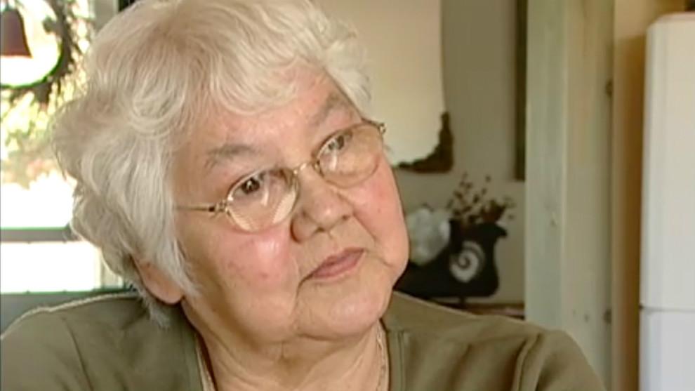 Nora Bernard championed the rights of residential school survivors.