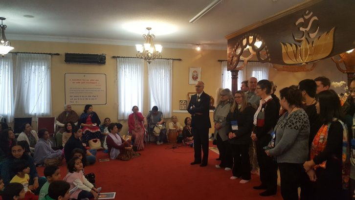 Interfaith Harmony Week at the Hindu temple
