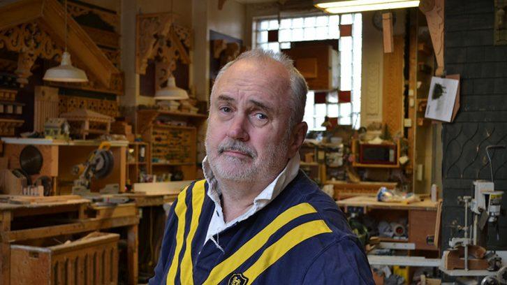 Hal Forbes in his Gottingen Street workshop