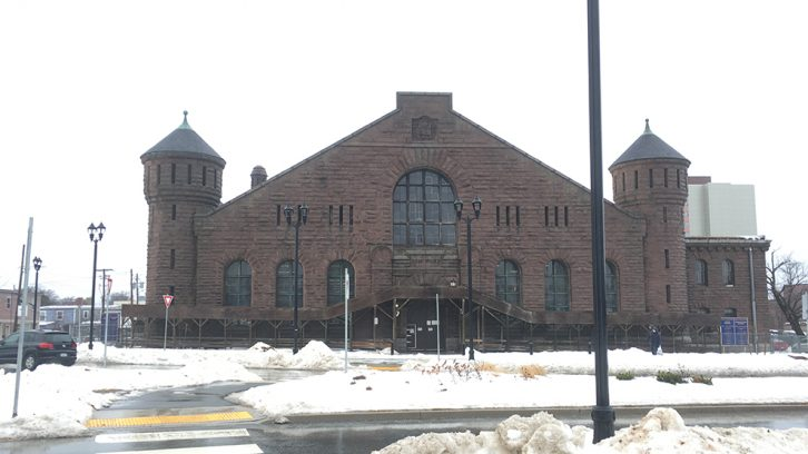 Repairs are coming to the western wall of Halifax's North Park Armory.