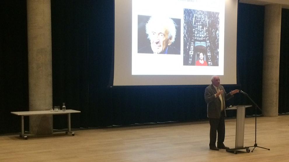 David Korn speaks at International Holocaust Remembrance Day in Halifax.