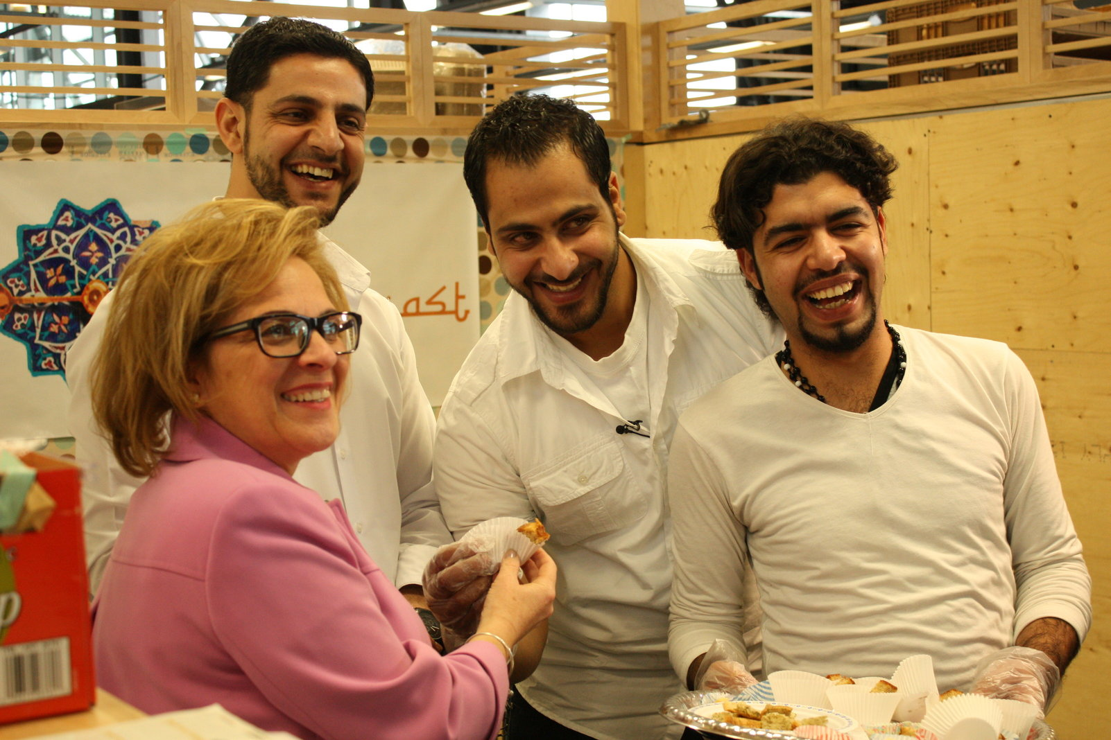 Piece of the East with the minister of immigration Lena M Diab