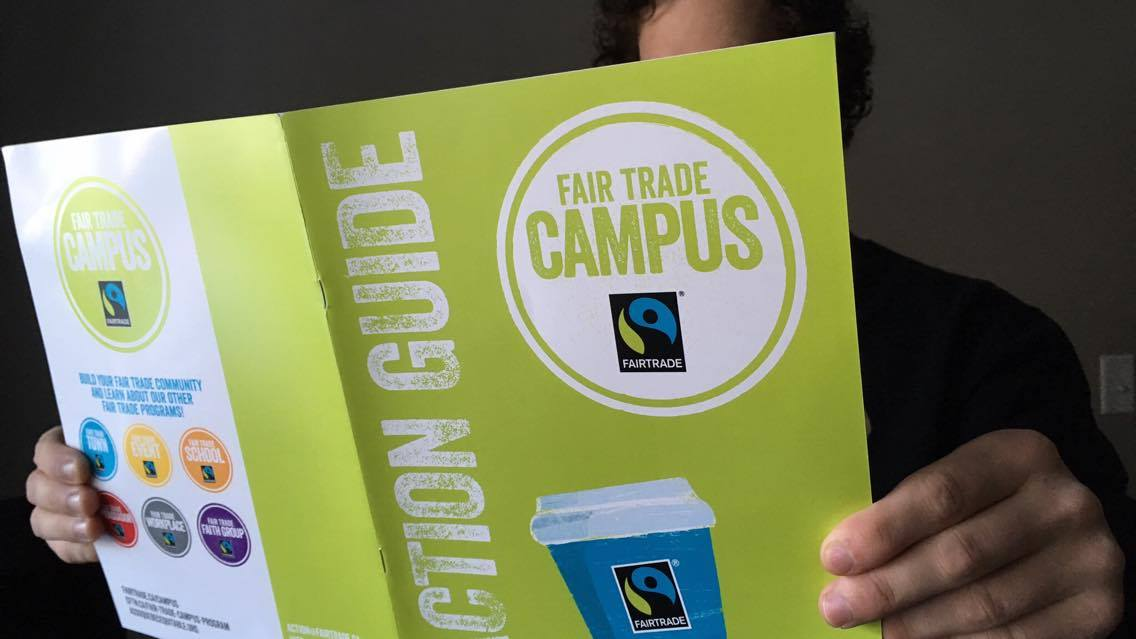 The Canadian Fair Trade Network wants the power of students to help push the fair trade movement.