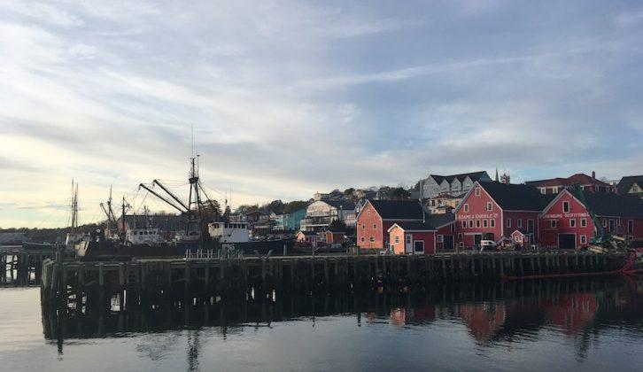 The docks where the Bluenose II calls home.