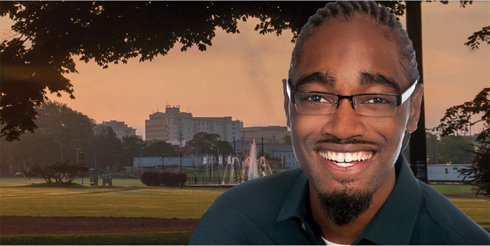 Councillor Lindell Smith. Taken from the Halifax.ca website.