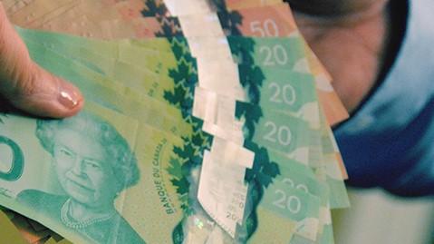 Money  Staged Photo: Nick Holland
