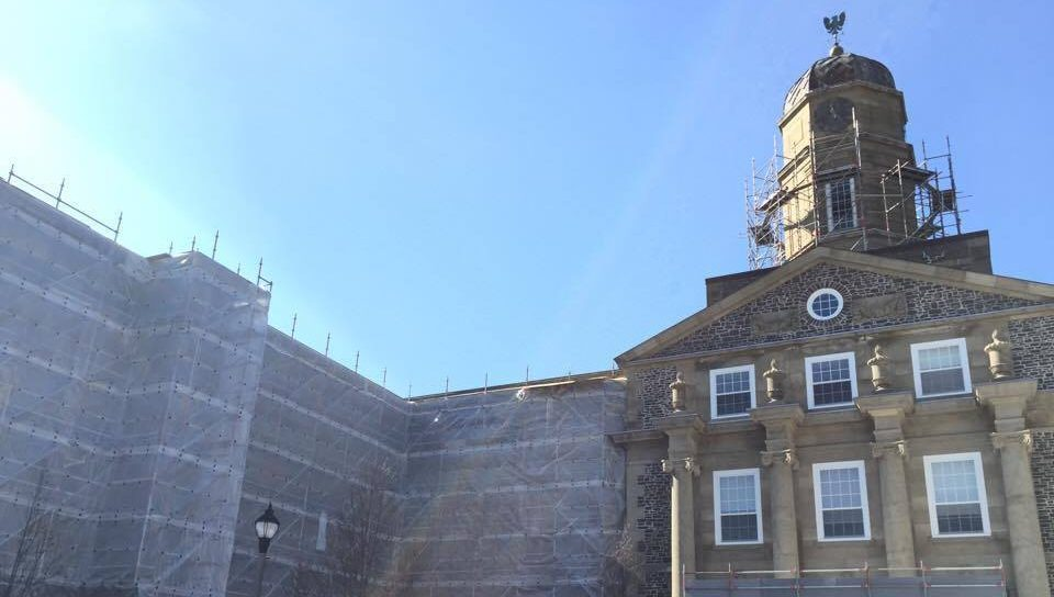 Dalhousie's iconic Henry Hicks building is under construction