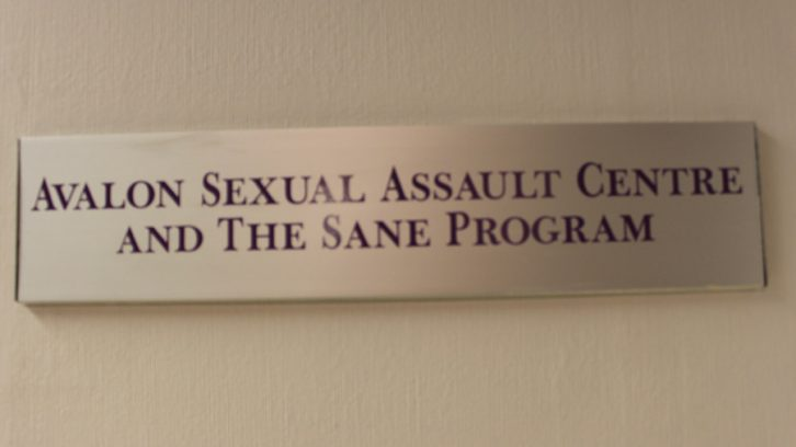 The Avalon Sexual Assault Centre is located on Dresden Row