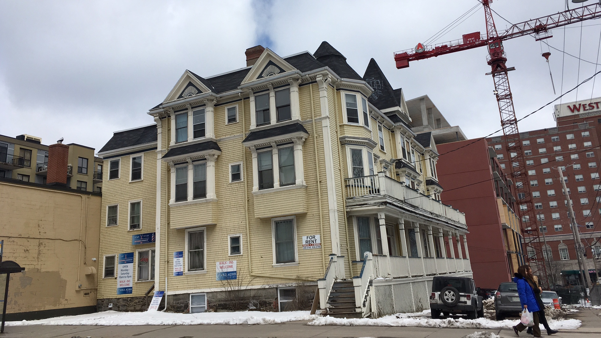 The historic Elmwood hotel was approved for demolition in November of 2016.