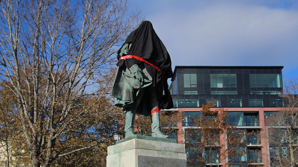 Edward Cornwallis was an 18th century Nova Scotia governor known for issuing a bounty on Mi'kmaq scalps.